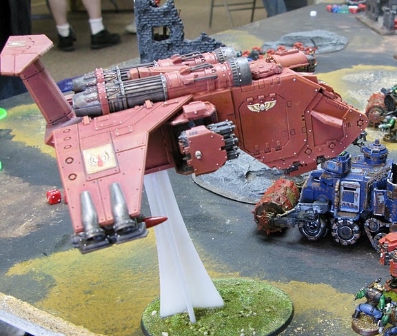 Completed Stormraven at Tournament!